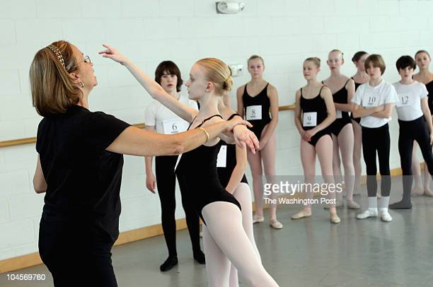 February 4 2007 CREDIT Susan Biddle / TWP Washington DC EDITOR MLF Ballet students from as far as Florida and Kentucky but mostly regional and...