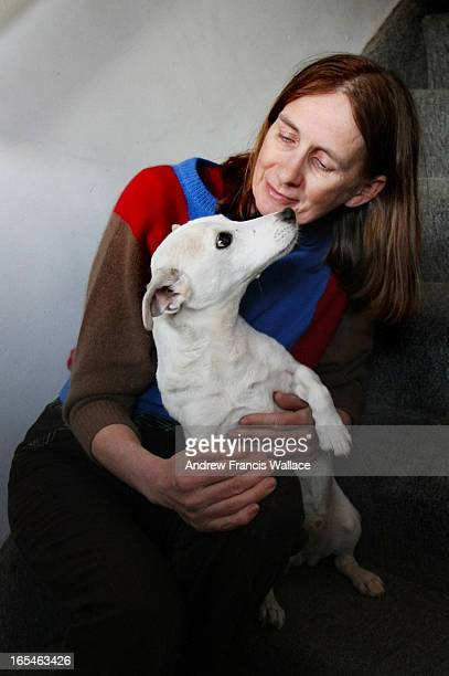February 5, 2009 Margaret Routh poses with her Jack 17-year-old Jack Russell named Jack Daniels at her Toronto apartment. Routh complained to the...