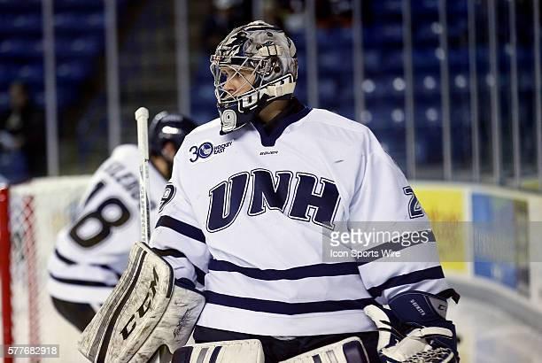 University of New Hampshire's Casey DeSmith The University of Vermont defeated the University of New Hampshire 52 in a regular season Hockey East...