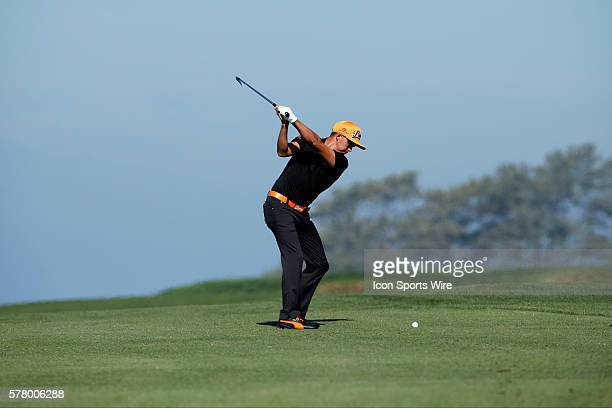 Rickie Fowler during the third round of the Farmers Insurance Open at Torrey Pines in La Jolla CA