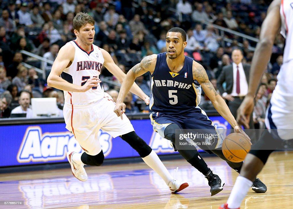 NBA: FEB 08 Grizzlies at Hawks : News Photo