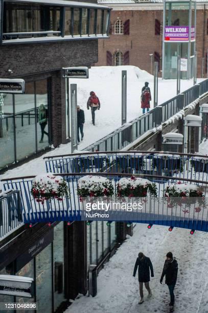 February 8th, Nijmegen. The below-freezing weather is expected to last the entire week. In the province of Gelderland has been snowing during the...