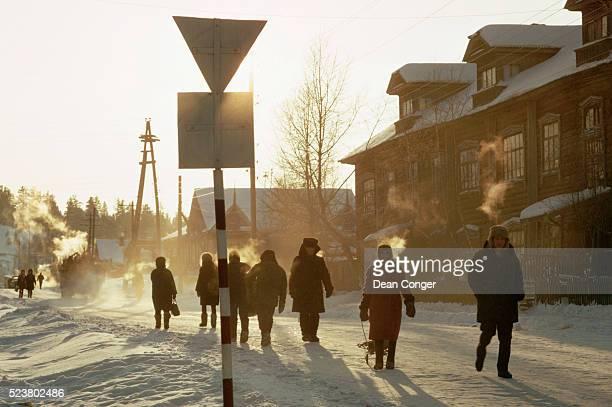 February Day in Khanty Mansiysk
