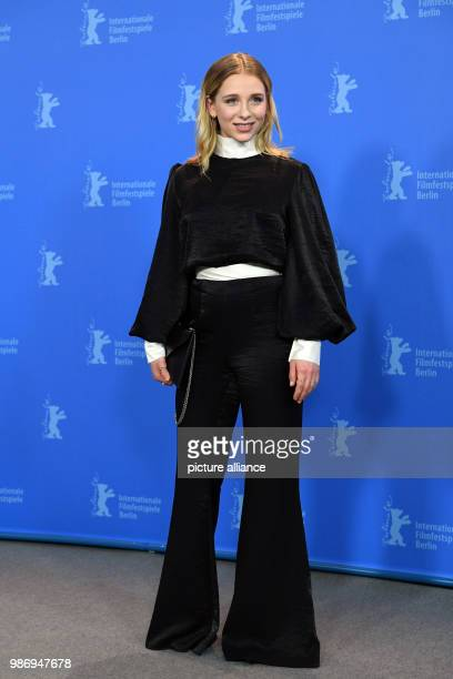 20 febuary 2018 Germany Berlin Berlinale photo session Das schweigende Klassenzimmer the actress Lena Klenke The film is running as a gala in the...