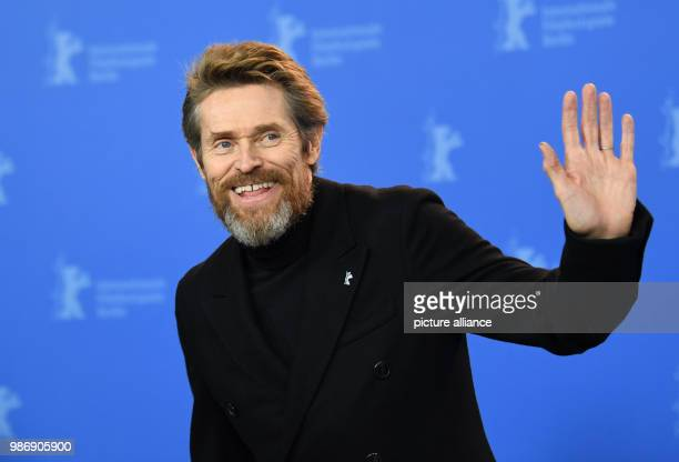 20 Febuary 2018 Germany Berlin photo session 'Sunday's Illness' the actor and winner of the Goldenen Ehrenbaer award Willem Dafoe The film is running...