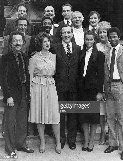 BLUES 'Fecund Hand Rose' Episode 113 Pictured Bruce Weitz as Det Mick Belker Barbara Bosson as Fay Furillo Daniel J Travanti as Captain Frank Furillo...