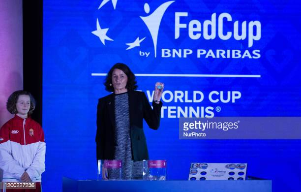 Fed Cup draw ceremony on Tuesday 11 February 2020 at the Museum of Fine Arts in Budapest