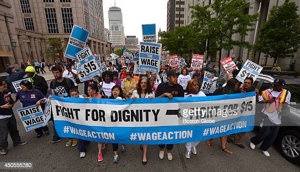 Fed up with an everwidening income gap and inspired by recent national strike actions hundreds of lowwage workers from multiple industries gathered...