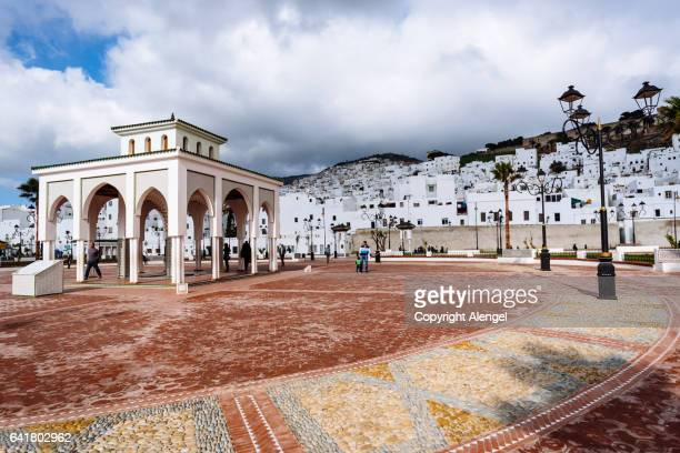 feddan park tetouan morocco. - tetouan stock photos and pictures
