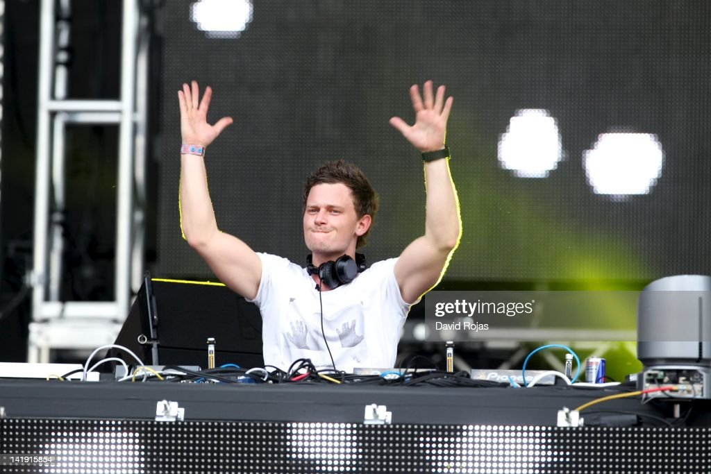 Fedde Le Grand performs at Ultra Music Festival 14 at Bayfront Park Amphitheater on March 25, 2012 in Miami, Florida.
