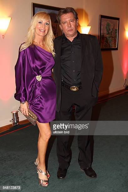 Fedder Jan Actor Germany with wife Marion during 'Couple of the year' in Hamburg Germany