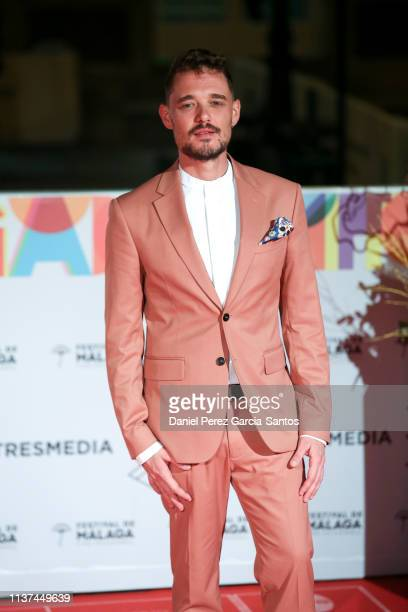 Fede Aguado attends '¿Que Te Juegas premiere at the Cervantes Theater during the 22nd Malaga Film Festival on March 21 2019 in Malaga Spain