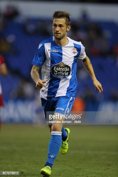 Fede Cartabia of Deportivo de La Coruna during the PreSeason Friendly between Deportivo de La Coruna and West Bromwich Albion on August 5 2017 in La...