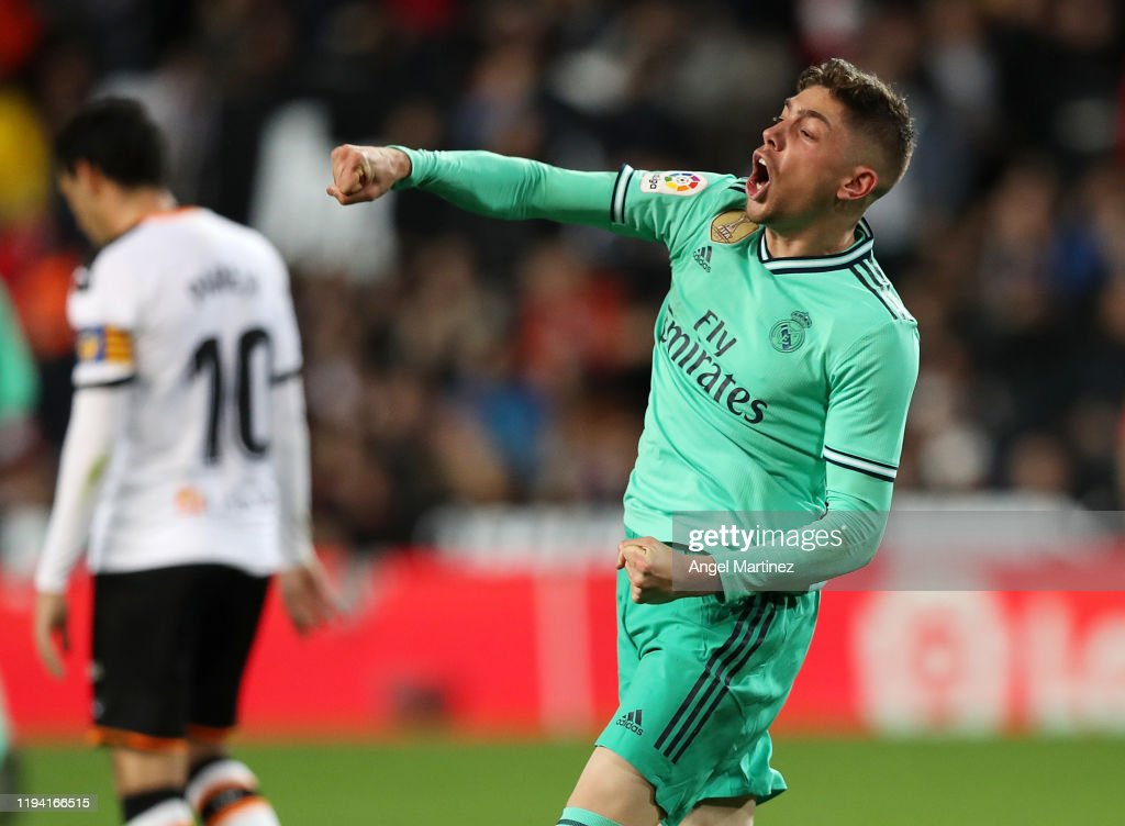Valencia CF v Real Madrid CF  - La Liga : News Photo