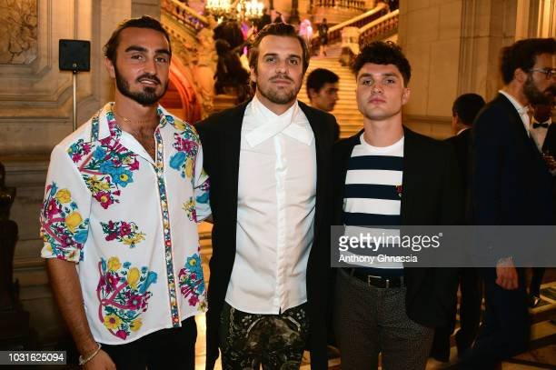 Feder attends Longchamp 70th Anniversary Celebration at Opera Garnier on September 11 2018 in Paris France
