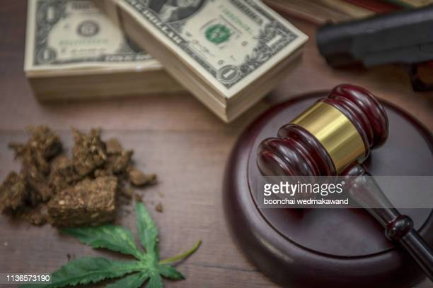 federal and state marijuana laws and money - legalization stock pictures, royalty-free photos & images