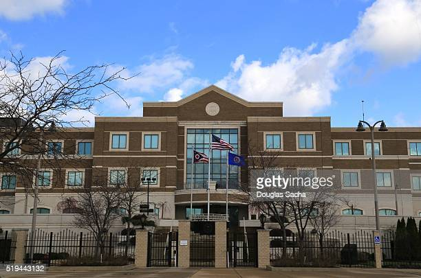 federal bureau of investigation building, fbi cleveland division, clevleand, ohio, usa - fbi id stock pictures, royalty-free photos & images