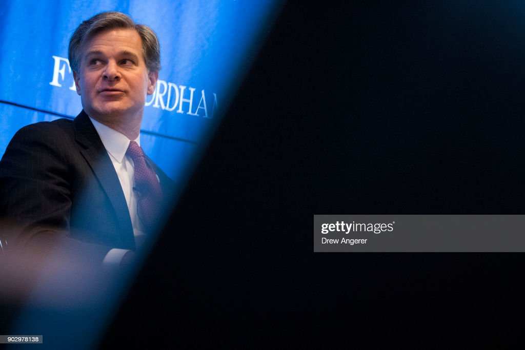 FBI Director Christopher Wray Addresses Int'l Conference On Cyber Security
