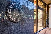 FBI, Federal Bureau of Investigation Headquarters, on Pennsylvania avenue