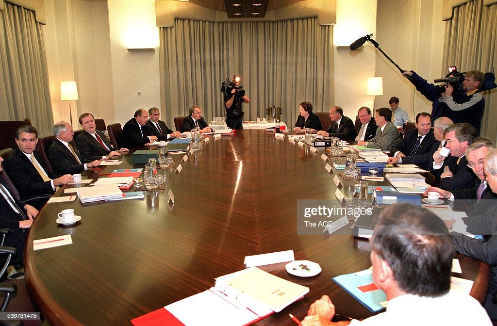 Federal Cabinet Meeting At 4 Treasury Place Which Was Re Opened By The  Prime Minister