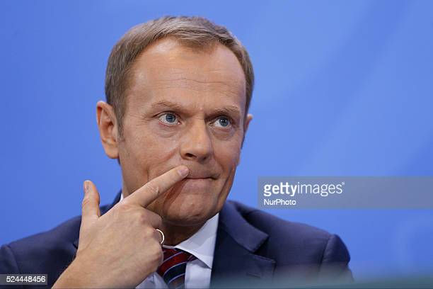 Federal Chancellor Merkel receives him the Polish Prime Minister Donald Tusk in the chancellor's office. Federal Chancellor Merkel and Prime Minister...