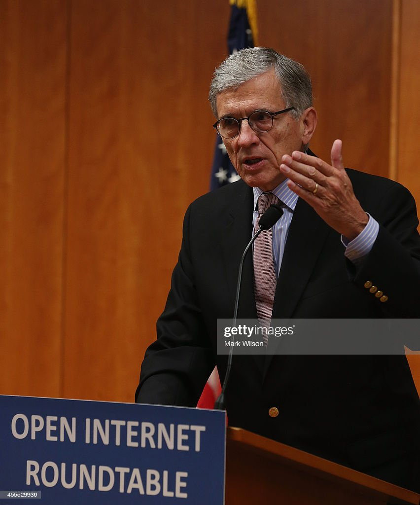 The FCC Holds Open Internet Roundtable : News Photo