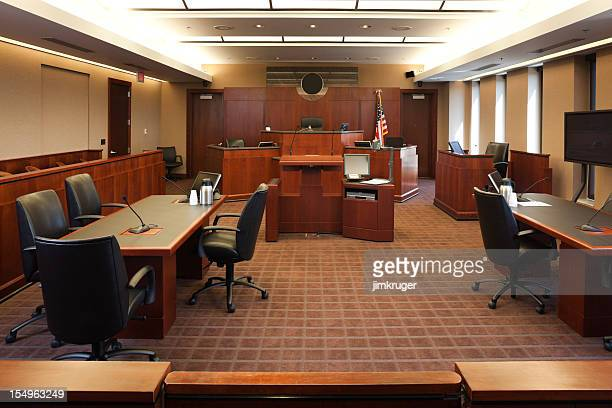 federal courtroom. - courtroom stock pictures, royalty-free photos & images