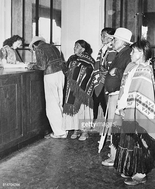 Federal courts ruled in favor of granting Native Americans the right to register and vote The New Mexico State Constitution had previously denied...