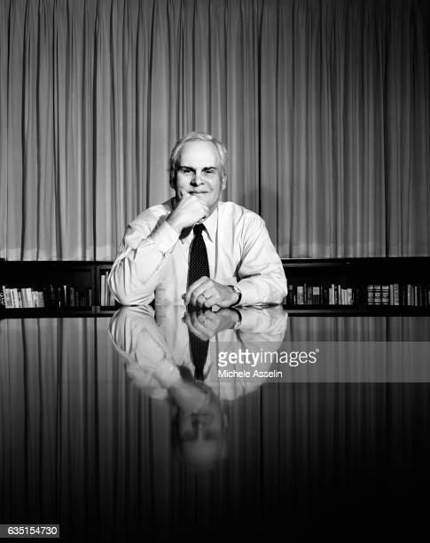 Federal Express Founder and CEO Fred Smith is photographed for Spec on January 29 2002 in Memphis Tennessee