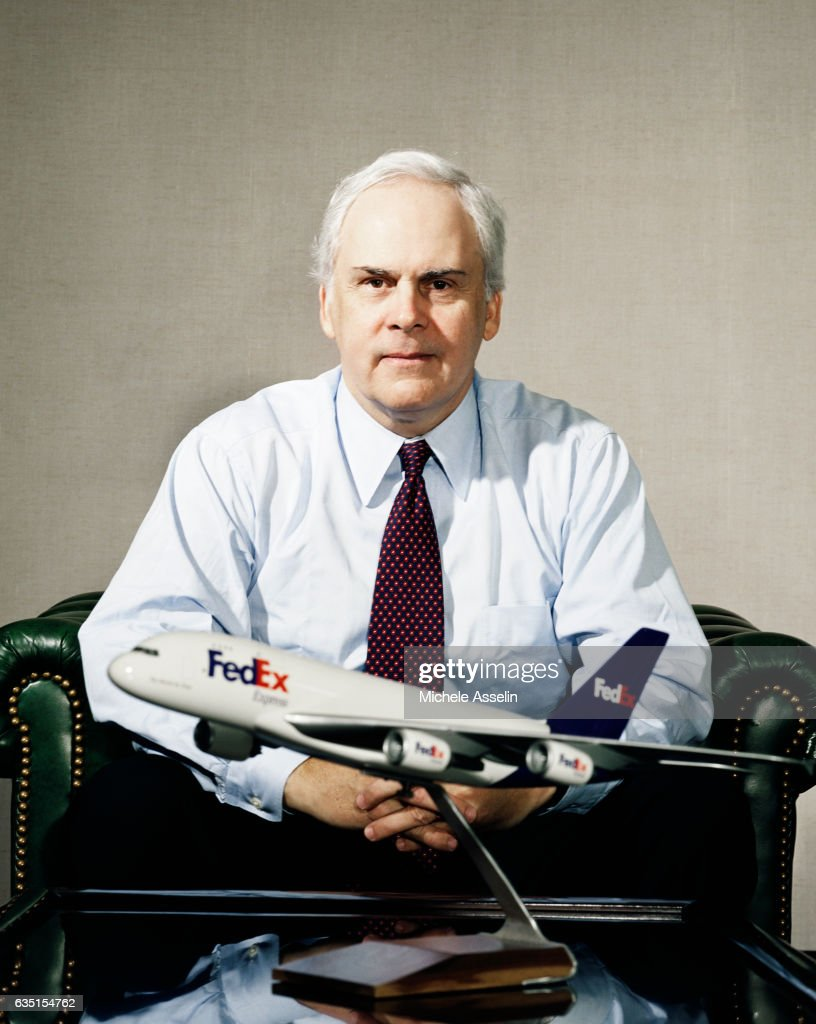 Fred Smith, Portrait Session, January 29, 2002 : News Photo