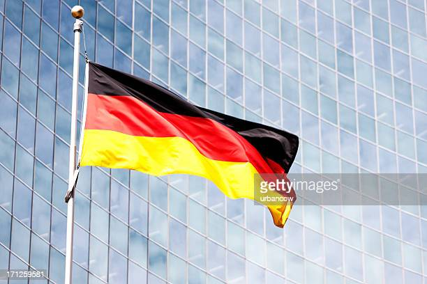 bundesflagge, berlin - german flag stock pictures, royalty-free photos & images