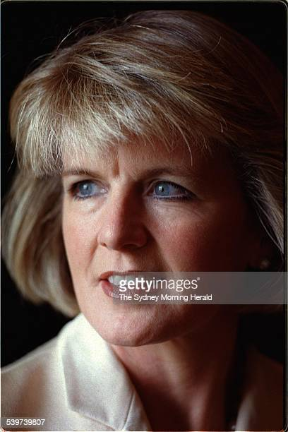 Federal Liberal MP Julie Bishop Constitutional Convention Old Parliament House Canberra 11 February 1998 SMH Picture by MIKE BOWERS