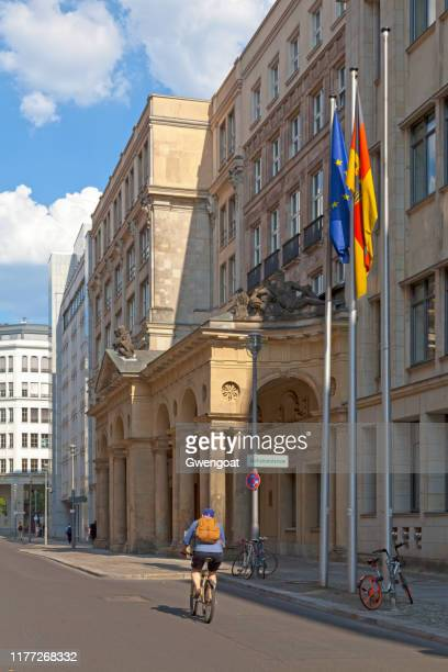 federal ministry of justice and consumer protection in berlin - gwengoat stock pictures, royalty-free photos & images