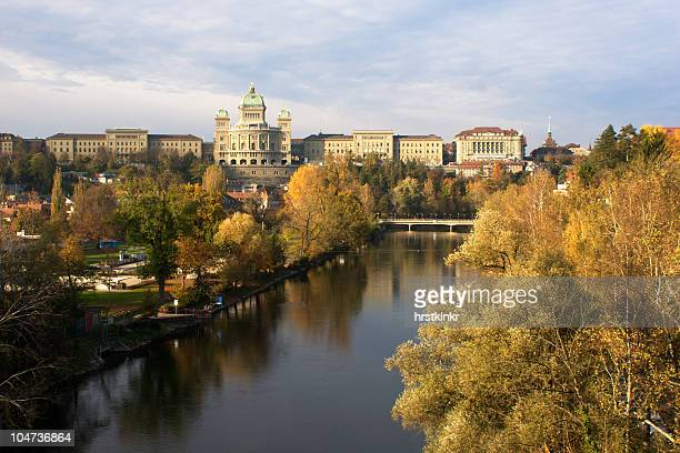 federal palace in bern, swiss, switzerland, switzerland - bern stock pictures, royalty-free photos & images