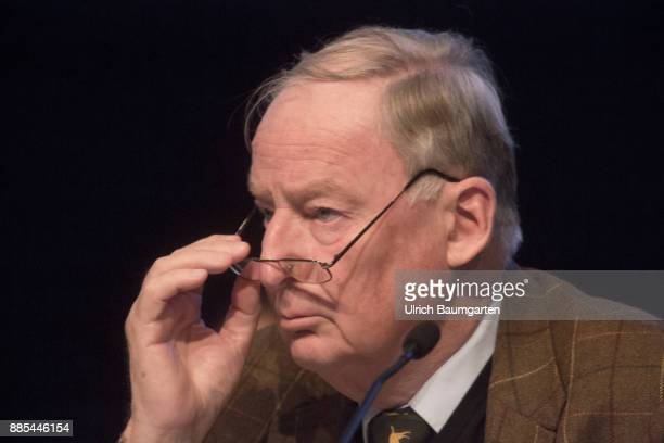Federal Party Congress of Alternative for Germany Alexander Gauland federal party chairmann of the AfD