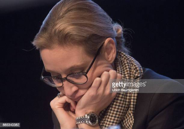 Federal Party Congress of Alternative for Germany Alice Weidel