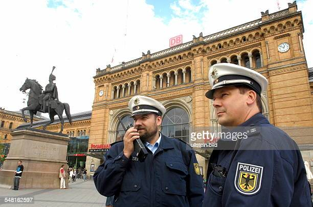 Federal Police at central station