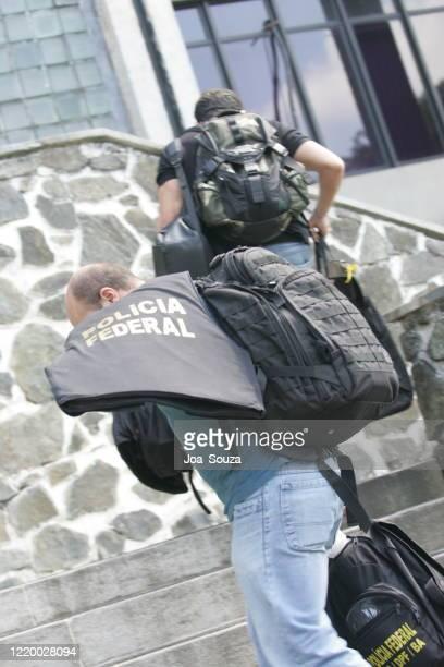 ブラジル連邦警察 - 連邦警察 ストックフォトと画像