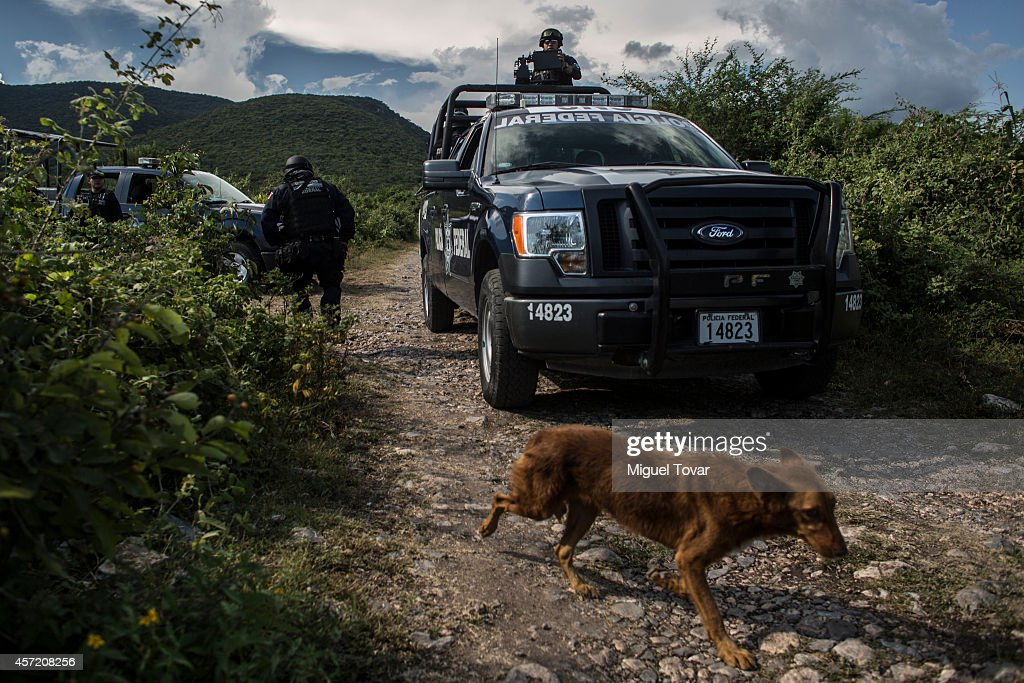 Mexican Federal Forces Takes Over Security In Iguala and Tixla : News Photo