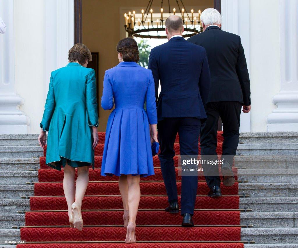 Federal President Steinmeier Welcomes The British Prince William