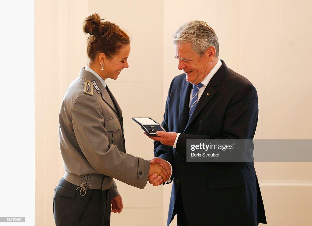 Silbernes Lorbeerblatt Award Ceremony