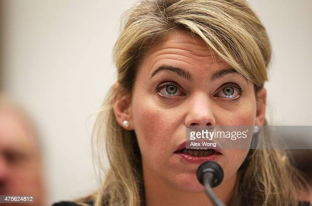 Federal Railroad Administration Acting Administrator Sarah Feinberg testifies during a hearing before the House Transportation and Infrastructure...