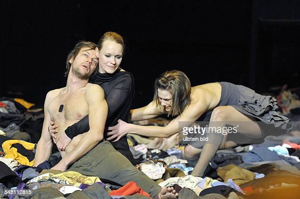 Federal Republic of Germany Berlin MaximGorki Theatre showing the play Antigonae / Hyperion by Sophokles / Hoelderlin directed by Jan Bosse actors...