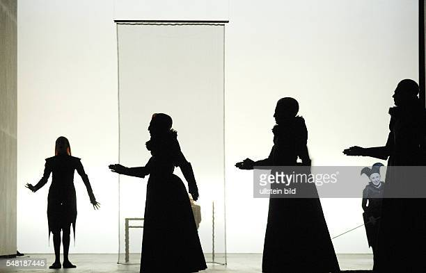 Federal Republic of Germany Berlin theatre Berliner Ensemble showing the play Shakespeares Sonette by Robert Wilson Rufus Wainwright directed by...