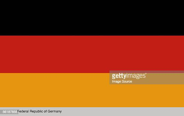 federal republic of germany - german flag stock pictures, royalty-free photos & images