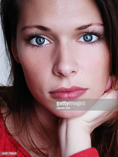 Federal Republic of Germany Woman with blue eyes