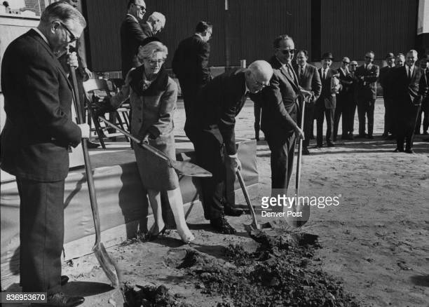 S Federal Reserve Bank Board Ground Broken for Bank Cris Dobbins chairman of the board of the Denver branch of the Federal Reserve Bank of Kansas...