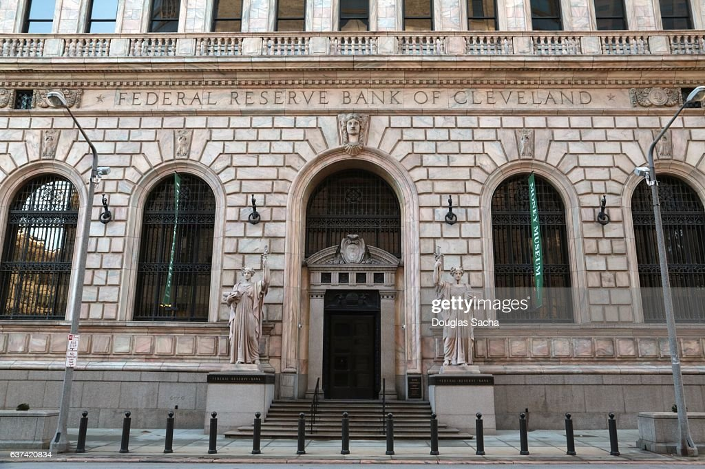 Us Federal Reserve Bank Fourth District Cleveland Ohio Usa