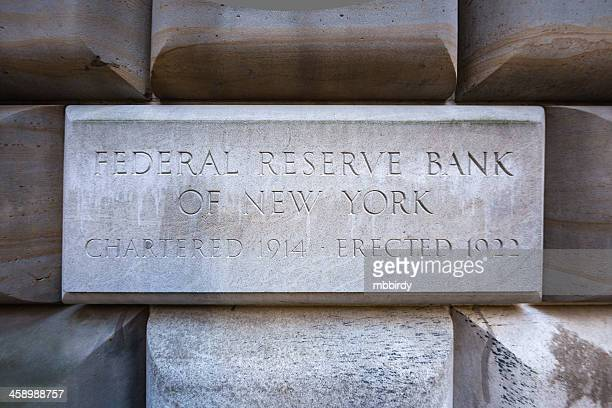 Federal Reserve Bank of New York building, USA