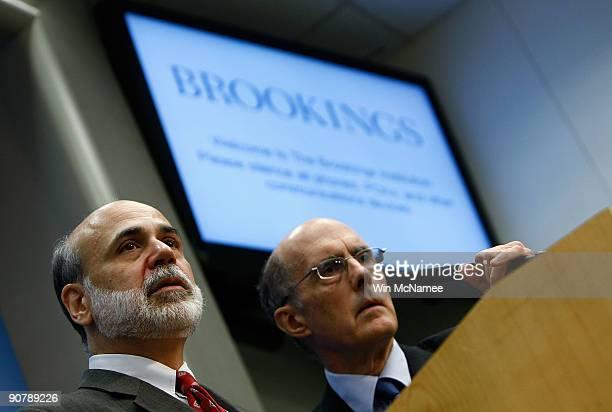 12 Fed Chair Ben Bernanke Addresses The Brookings Institution